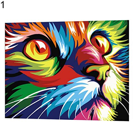 Cool Diy Oil Painting By Numbers Paint By Number Kits Animal Download Free Architecture Designs Scobabritishbridgeorg