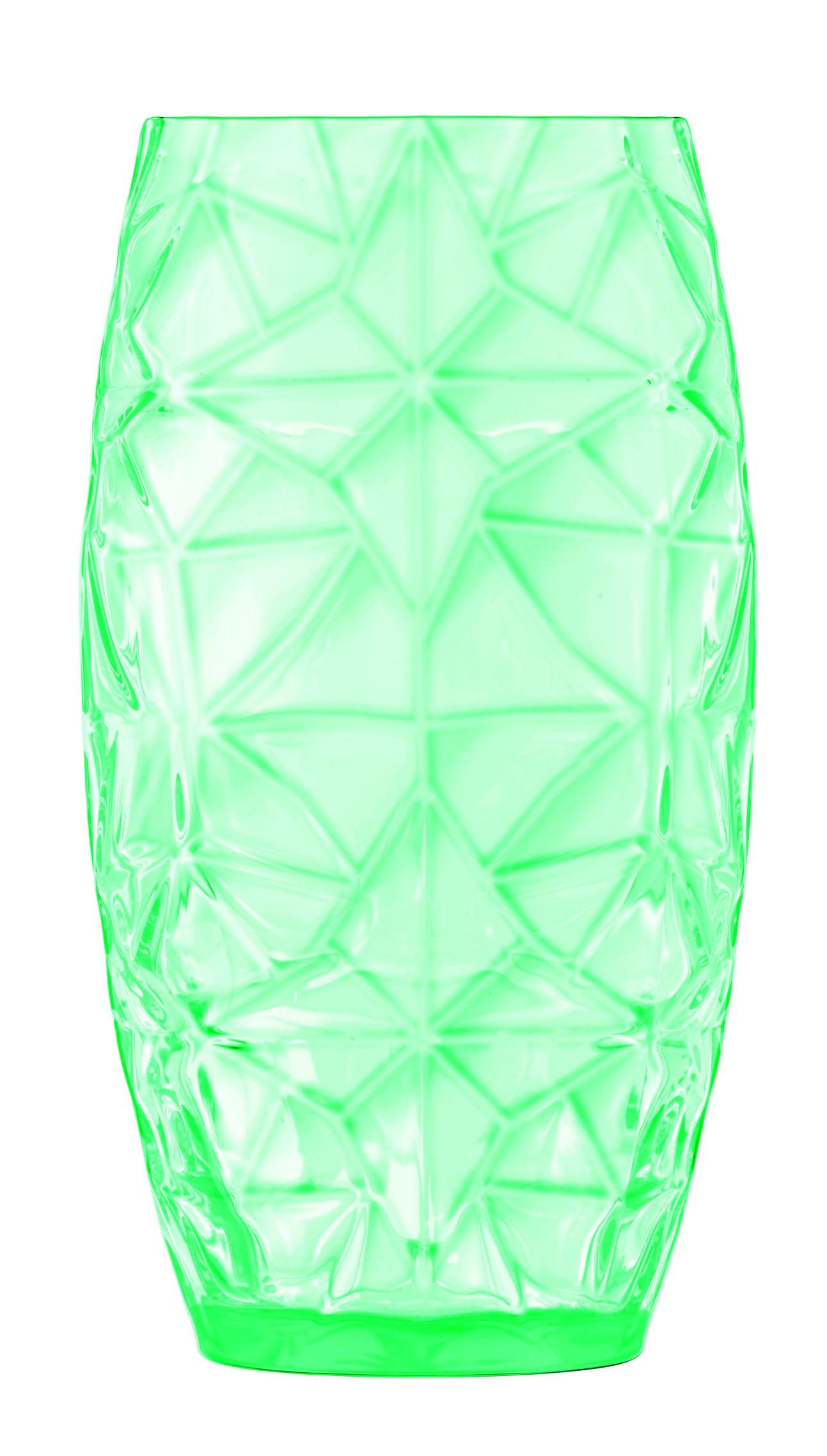 Luigi Bormioli Prezioso Beverage Glass (Set of 4), 20 oz, Green