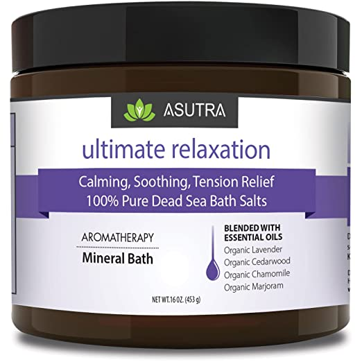 """Ultimate Relaxation"" 100% Pure Dead Sea Bath Salts"