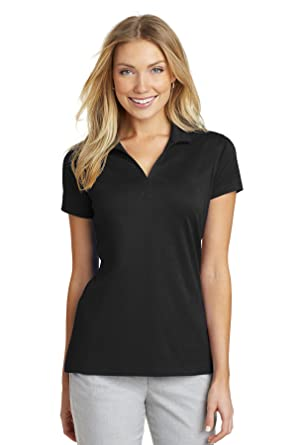 d52d7a28ab0 Port Authority Women s Rapid Dry Mesh Polo L573 at Amazon Women s Clothing  store