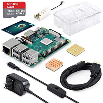 ABOX Raspberry Pi 3 B+ Complete Starter Kit with Model B
