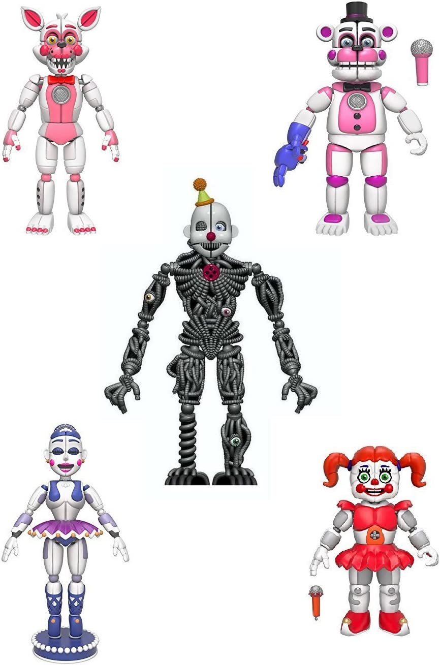 Funko Articulated Action Figure Five Nights At Freddy/'s Funtime Foxy 5/""