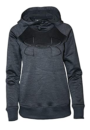258dd1105 Under Armour Womens Hoodie Active Big Logo Pullover (Black, X-Small)