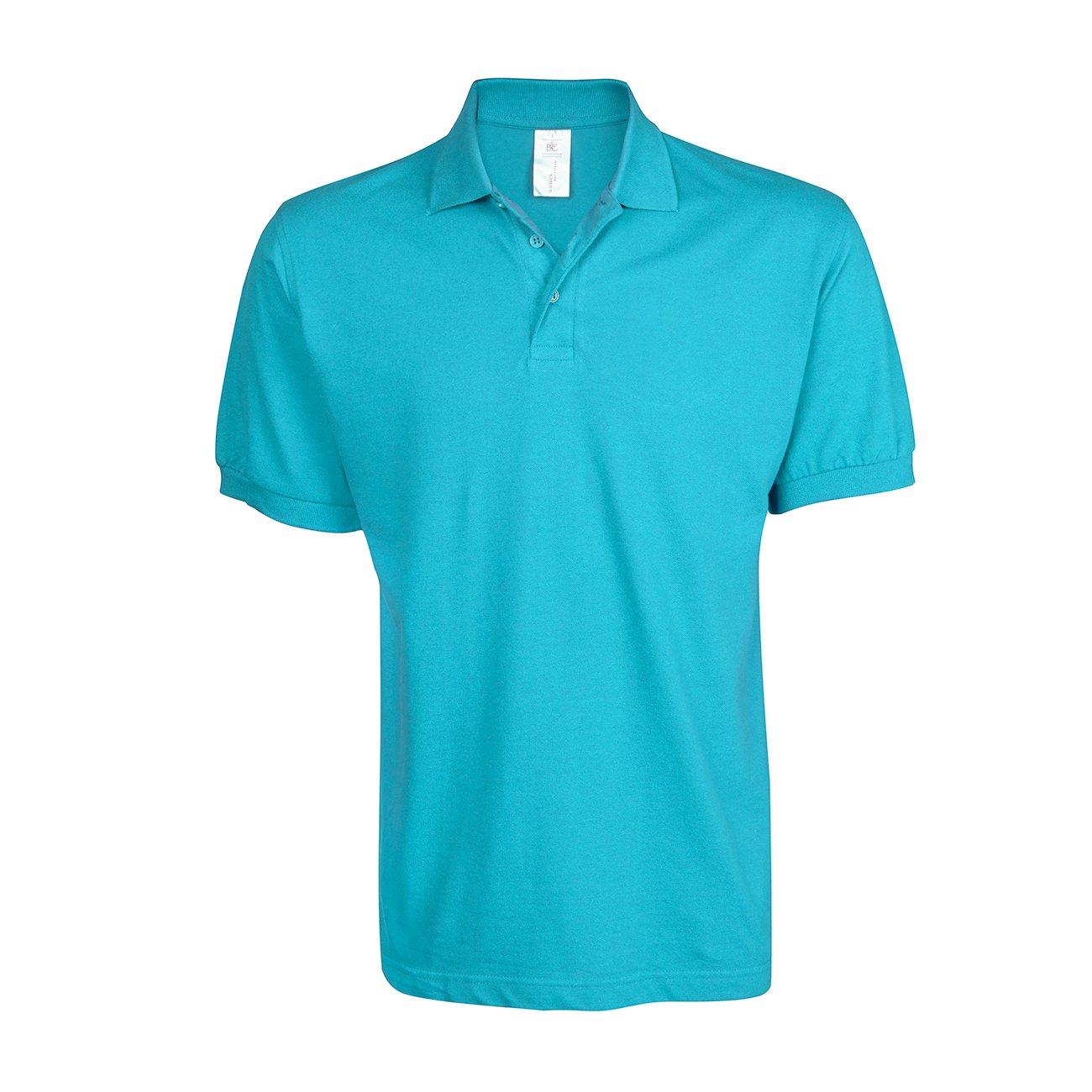 Mens Polo Shirt Classic Plain Big and Tall Plus Size T-Shirts