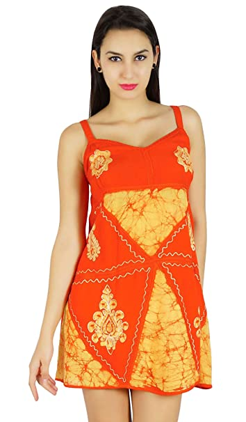 aac56990f462 By The Seashore Summer Batik Printed Dress Beach Top Casual Viscose Rayon  Tunic Sundress