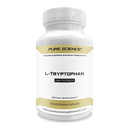 Pure Science L-triptófano 500 mg - 100 cápsulas vegetarianas