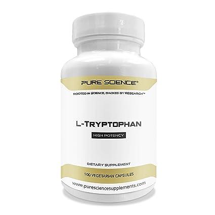 Pure Science L-triptófano 500 mg - 100 cápsulas vegetarianas