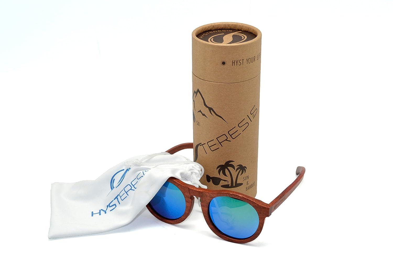 Hysteresis Root Emerald - Gafas de Sol Madera Walnut con cristales esmeralda polarizados: Amazon.es: Deportes y aire libre