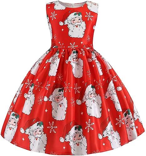 Ni/ña Reci/én Nacida 3 Piezas Trajes Romper Monos Falda de Lunares Diadema Disfraz De Princesa De Navidad Ni/ño Beb/é Ni/ñas Infantil Mi Primera Navidad 0-24 Meses