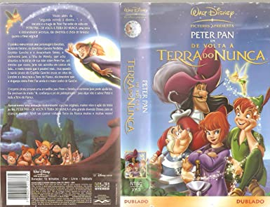 Amazoncom Peter Pan Em De Volta A Terra Do Nunca Walt