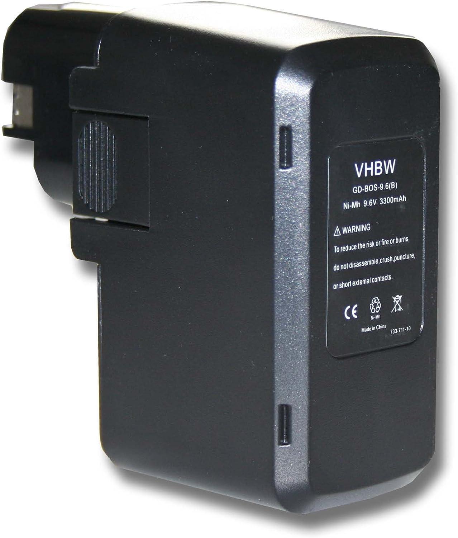 vhbw Batería 3300mAh para herramienta Skil B 2100, B 2109, B 2109k, B 2110, B 2220