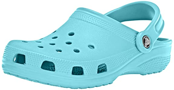 Crocs Classic Clog|Comfortable Slip On Casual Water Shoe, Pool, 5 M US Men/7 M US Women best gifts for VSCO girls