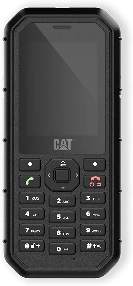 Bullitt CAT B26, Teléfono móvil rugerizado de 2.4 (2G. 2MP, 8GB ...