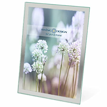 Swing Design Flare Picture Frame Without Glass Border 5 By 7 Inch