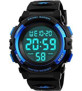 Kids Digital Watch,Boys Sports Waterproof Led Watches With Alarm,Wrist Watch For Boys