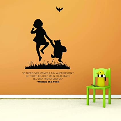 ca01745993fd WINNIE THE POOH Butterfly Wall Decals Tigger Piglet Kids Bedrooms Girls  Boys Babies Toddlers Stickers For