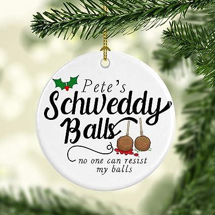 Personalized Christmas Balls.Amazon Com Funny Christmas Ornament Holiday Decor