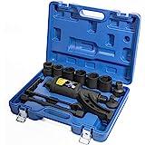 XtremepowerUS Torque Wrench Labor Saving Lug Nut Wrench Torque Multiplier w/Cr-v Socket (Torque Wrench W/ 8pc Socket Set…