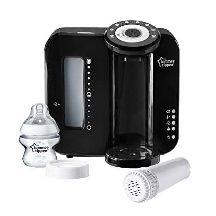 Tommee Tippee Perfect Prep - Máquina de preparación del biberón negro