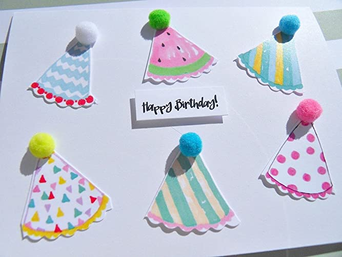 Amazon Com Kids Birthday Cards Funny Birthday Cards Handmade