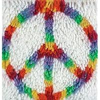 WonderArt - Juego de Ganchos para Cerrojo, Peace 8 X 8, Peace 8 x 8, 1