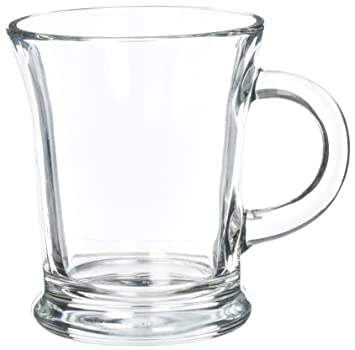 Amazoncom 16 ozKona Glass Coffee Mug by Libbey Home Kitchen