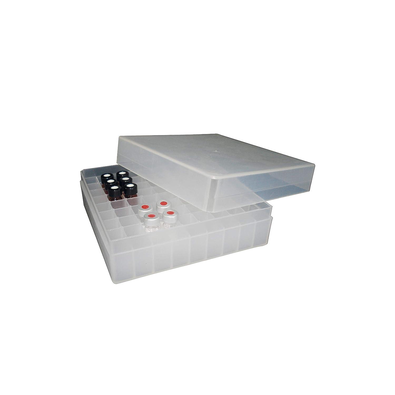 Caja de polipropileno para 81 criotubos (9 x 9) de 1,8 ml, ASTIKs ...