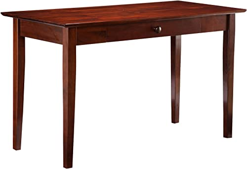 Atlantic Furniture Shaker Desk, Antique Walnut