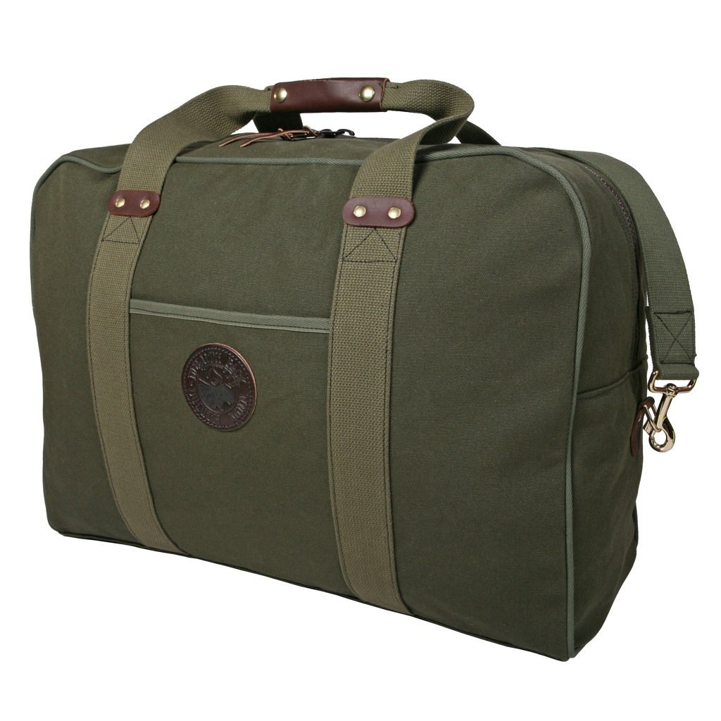 Duluth Pack Medium Safari Duffel Bag Olive Drab 17 x 23 x 11-Inch T702