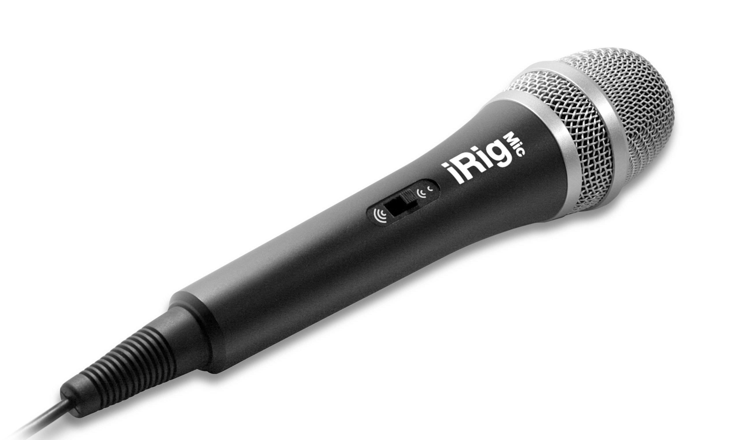 IK Multimedia iRig Mic handeld condenser mic for smartphones and tablets by IK Multimedia