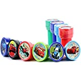 Disney Cars Self-Inking Stamps / Stampers Party Favors (10 Counts) by GoodyPlus