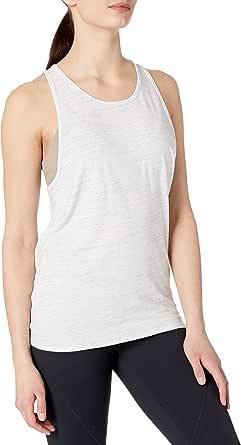Core 10 Amazon Brand Women's Pima Cotton Open Back Tie Racerback