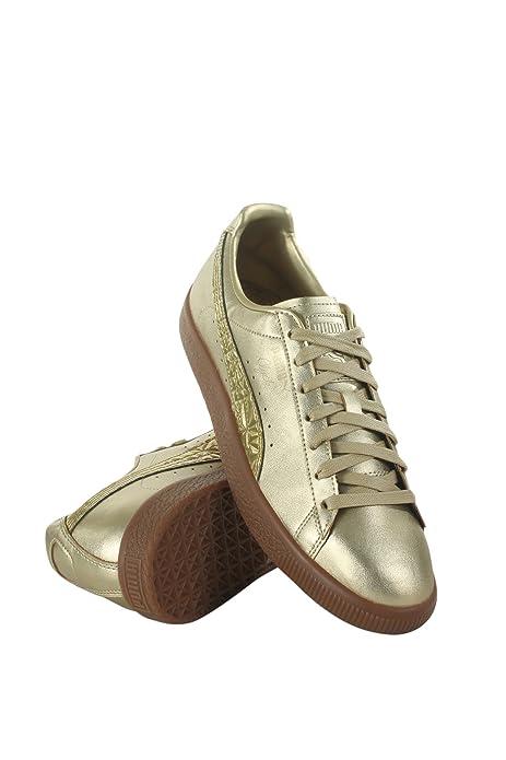 PUMA Men s Clyde Tott FM Gold 9.5 D US  PUMA  Amazon.ca  Shoes ... eaf5a9a7c