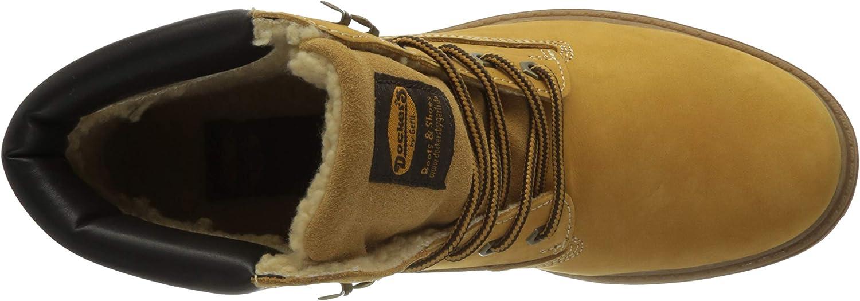 Dockers by Gerli 45ca101, Bottes Rangers Homme Jaune Golden Tan 910
