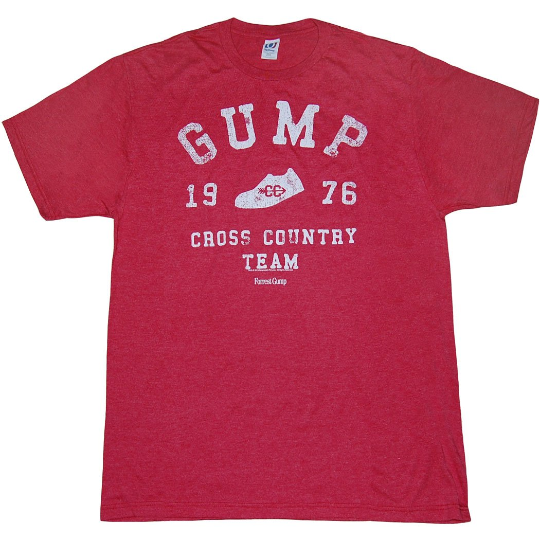 66082ad45ea Amazon.com: Forrest Gump Cross Country Team T-Shirt: Clothing