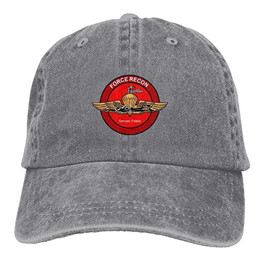 United States Marine Corps Force Reconnaissance Dad Hat Adjustable