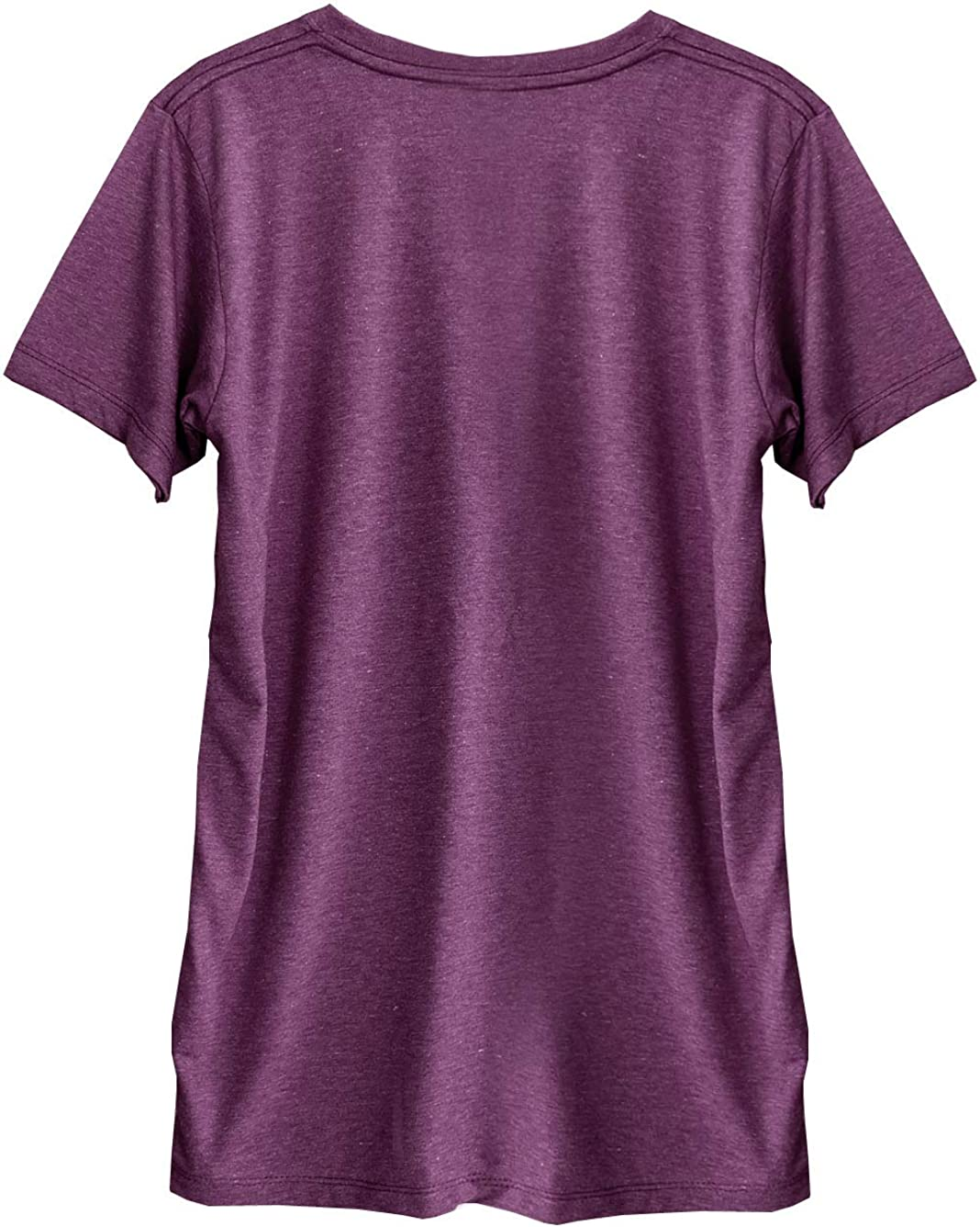 TeeMixed Women Unisex tri-Blend V-Neck Short Sleeve t-Shirt with Funny Print 9307