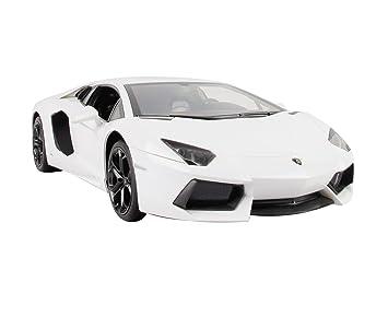 jamara 404316 maquette voiture lamborghini aventador lp700 blanc 3 pices