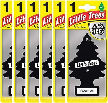 Amazon.es: Little Trees MTZ04 Ambientadores Hiello Nero, 6 piezas