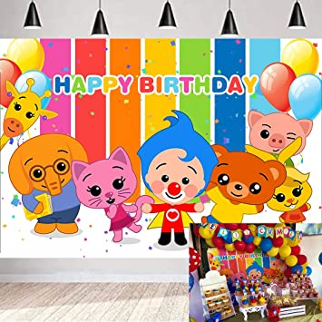 Cartoon Yellow Vinyl Birthday Backdrop Child Birthday Newborn Baby Photoshoot Photo Booth Props Wedding Festival Themed Party Kids Photography Background