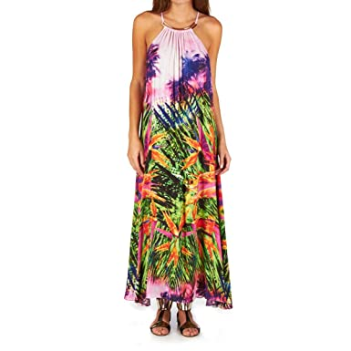 eee7d4320734 Women Beachwear Seafolly Beach Dress Oasis Rio Out Maxi Dress Pink Size XL  Color PINK: Amazon.co.uk: Clothing