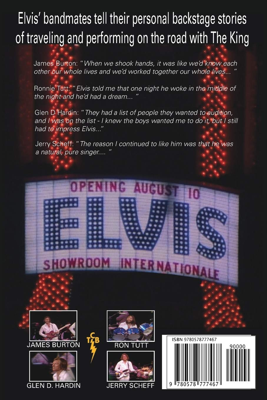 On Stage With ELVIS PRESLEY: The backstage stories of Elvis ...