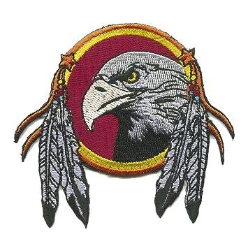 Eagle Feather Dream Catcher Eagle Feather Dream Catcher IronOn Patch Amazoncouk Car 26