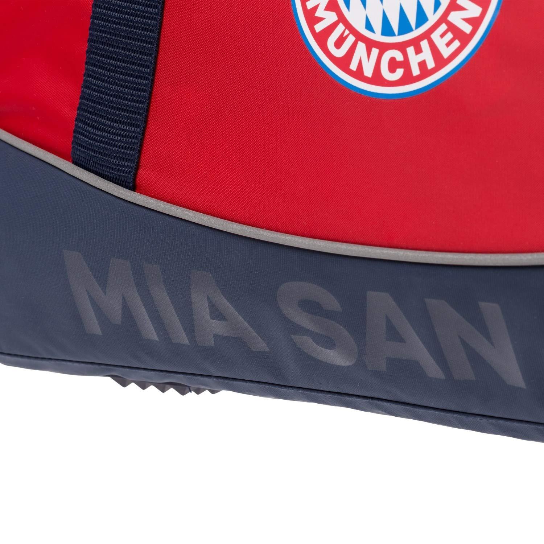 FC Bayern M/ünchen Sporttasche mia san mia rot Tasche FCB Plus Lesezeichen I Love M/ünchen