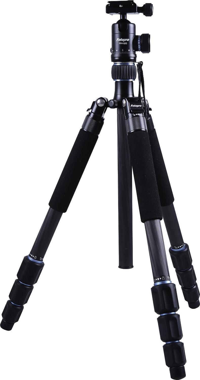 Rollei CT-5C + 52Q - Trípode carbono con cabezal esférico (Arca Swiss compatible, capacidad 8 kg, altura 157 cm), color negro: Amazon.es: Electrónica