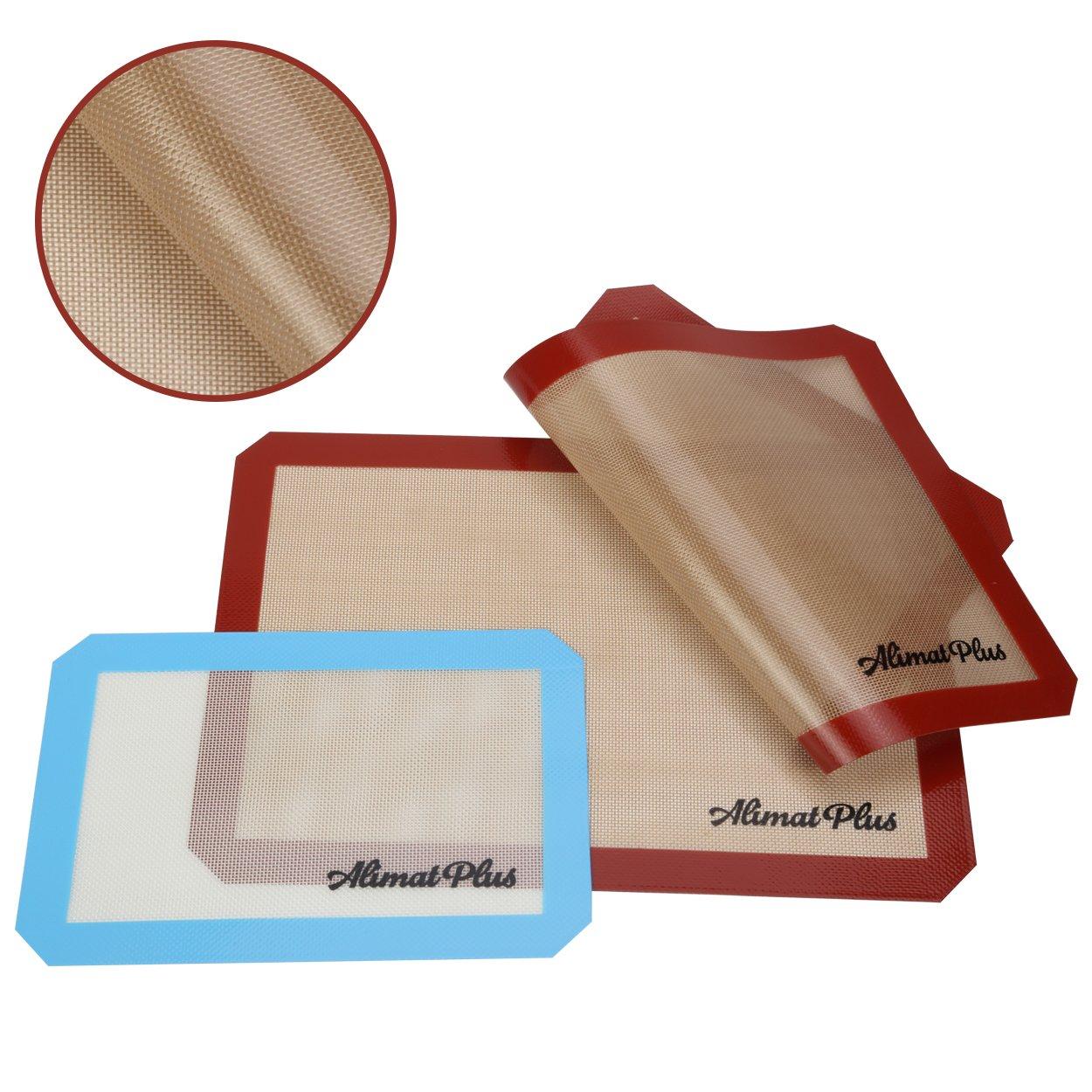 Alimat Plus Silicon Baking mat Cookie Sheet Non Stick Dishwasher Safe Reusable by Alimat Plus (Image #4)