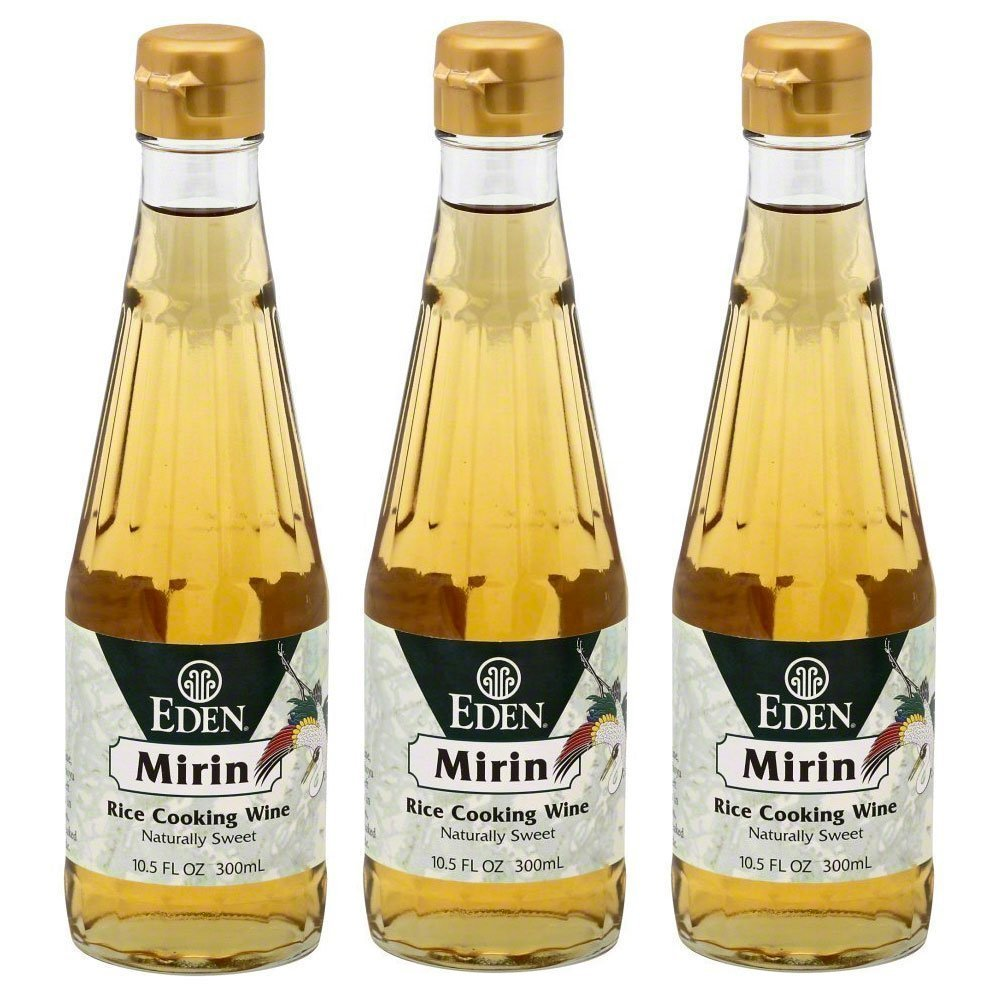 Eden Foods Mirin Rice Cooking Wine 3 Pack Value Deal