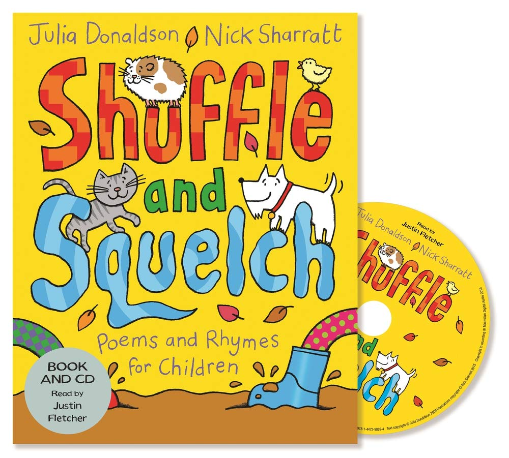 Shuffle and Squelch: Book and CD Pack: Amazon.es: Donaldson, Julia ...