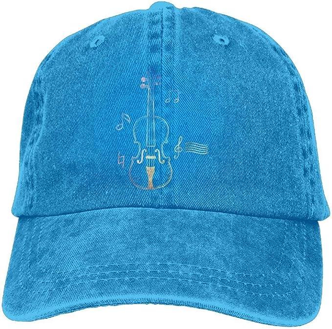 KLING Línea de violín Dibujo Unisex para Mujer Gorras de béisbol ...