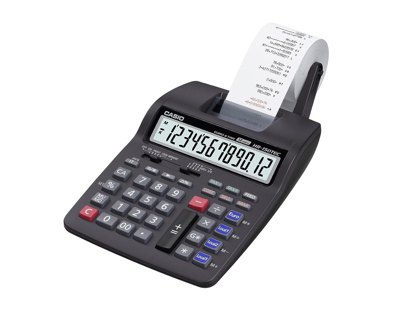 Casio HR-150TEC - Calculadora impresora: Amazon.es: Oficina y ...